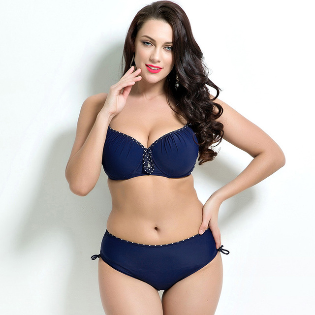 Plus Size Push-Up Bikini Set