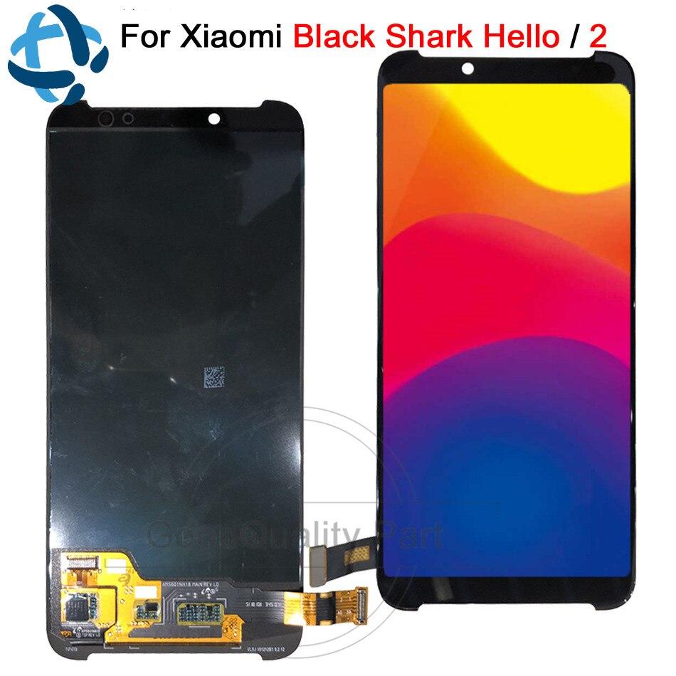 """6.01 """"สำหรับ Xiaomi สีดำ Shark Helo 2 จอแสดงผล Lcd Touch Screen Digitizer AWM A0 Assembly Replacement Part Xiaomi BlackShark 2 lcd-ใน จอ LCD โทรศัพท์มือถือ จาก โทรศัพท์มือถือและการสื่อสารระยะไกล บน AliExpress - 11.11_สิบเอ็ด สิบเอ็ดวันคนโสด 1"""