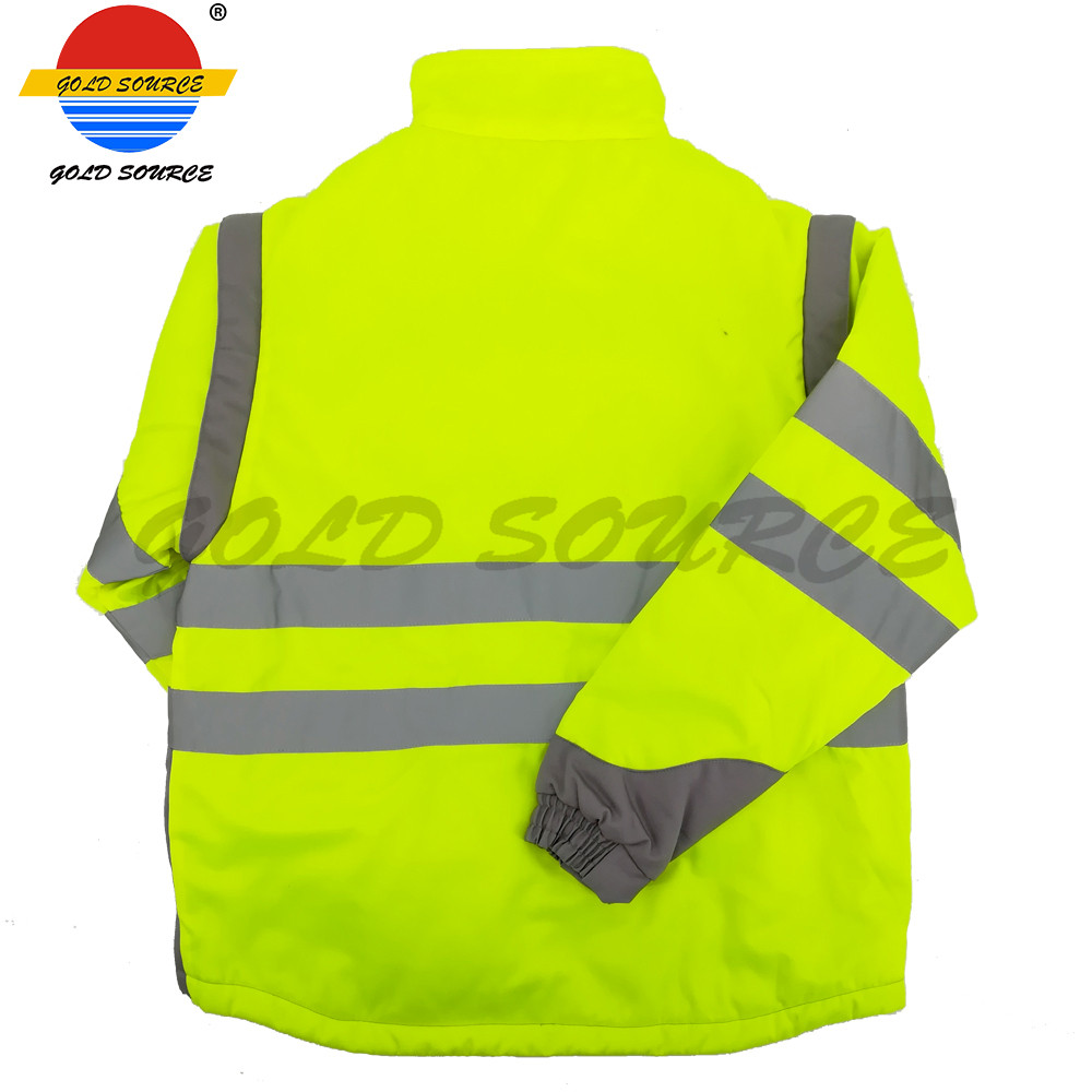 Factoray On Sales Cheap Long Sleeves Twill Industry Workwear Construction Jackets Durable Service Security & Protection