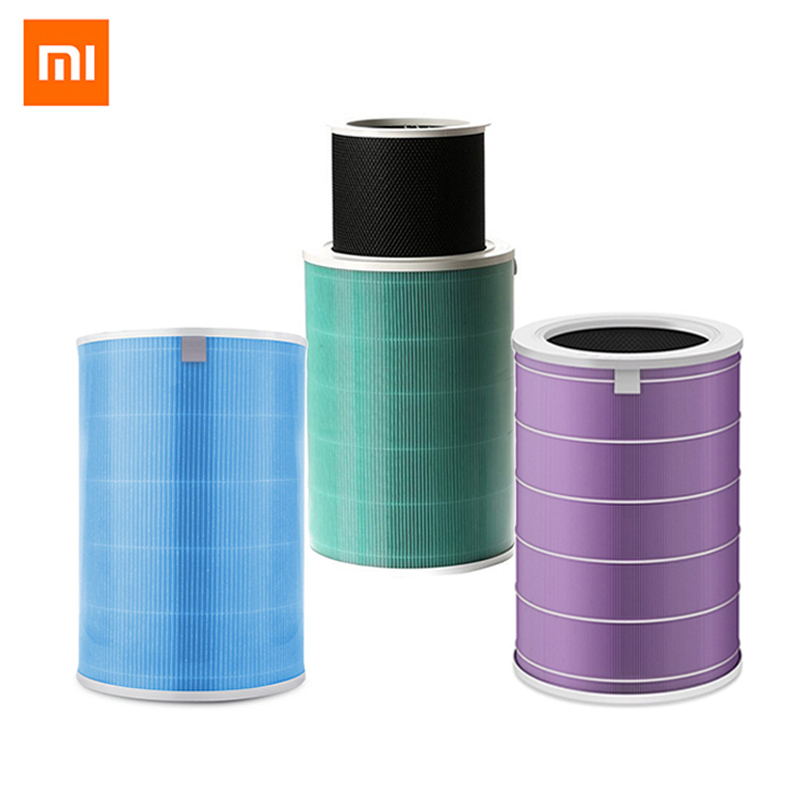 Original Xiaomi Air Purifier Filter Parts Air Cleaner Filter Smart Mi Air Purifier Core Removing HCHO Formaldehyde Version xiaomi mi smart air purifier 2nd gen hepa home air cleaner app control
