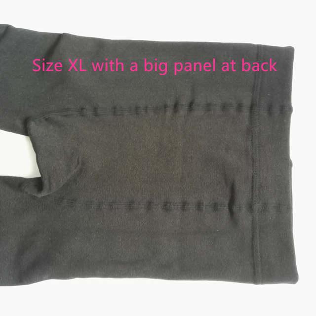 af8326cee Par Mulheres 150D 4 Microfibra Velo Térmico Forrado Inverno Calças Quentes  Meia-calça Mulheres Grossas