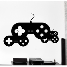 Removable Wall Sticker Home Decor Gaming Controller Joypad Vinyl Wall Decal Decoration Mural Art