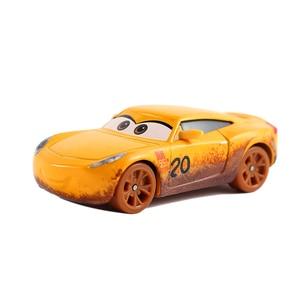 Image 3 - דיסני פיקסאר מכוניות 3 לייטנינג מקווין מאטר ג קסון סטורם רמירז Diecast מתכת סגסוגת דגם מכונית צעצוע מתנה עבור חג המולד מתנות