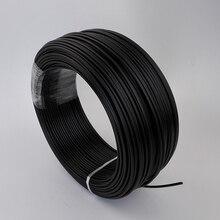 150Meters Black PE plastic fiber optic cable, inner 3mm end glow optic fiber cable  for DIY fiber swimming pool,ground lighting