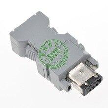 (5 pièces) CN3 55100 0670 IEEE1394 pour ZSP CMP9 1 E encodeur mâle 6Pin