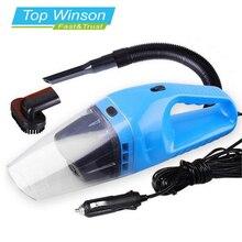 Aspirador Portable del coche Mojado Y Seco de Doble Uso Filtro de Cigarrillo Auto Más Ligero 120 W 12 V Azul