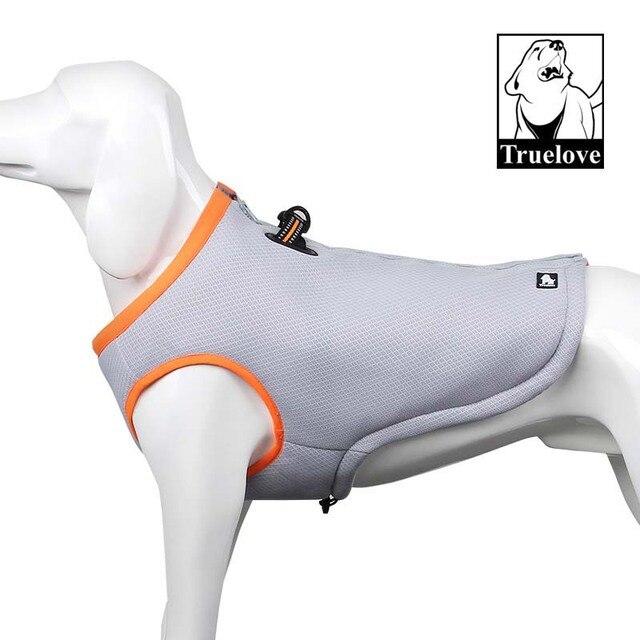 32e8477054c0 Truelove Summer Dog Cooling Vest Dog Cooling Harness For Dogs Adjustable Pet  Mesh Reflective Vest