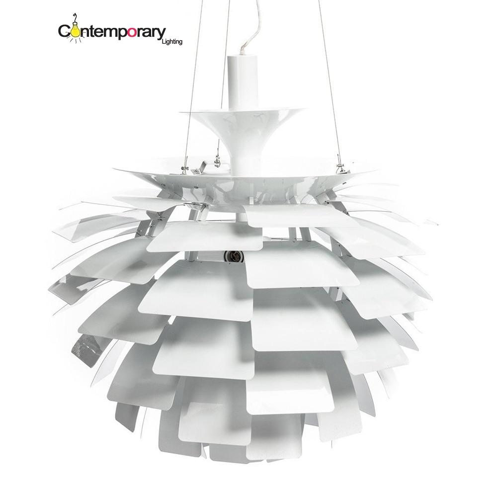 Aliexpress.com : Buy modern simple E27 White aluminum PH Pine cones Pendant Light Suspension ...
