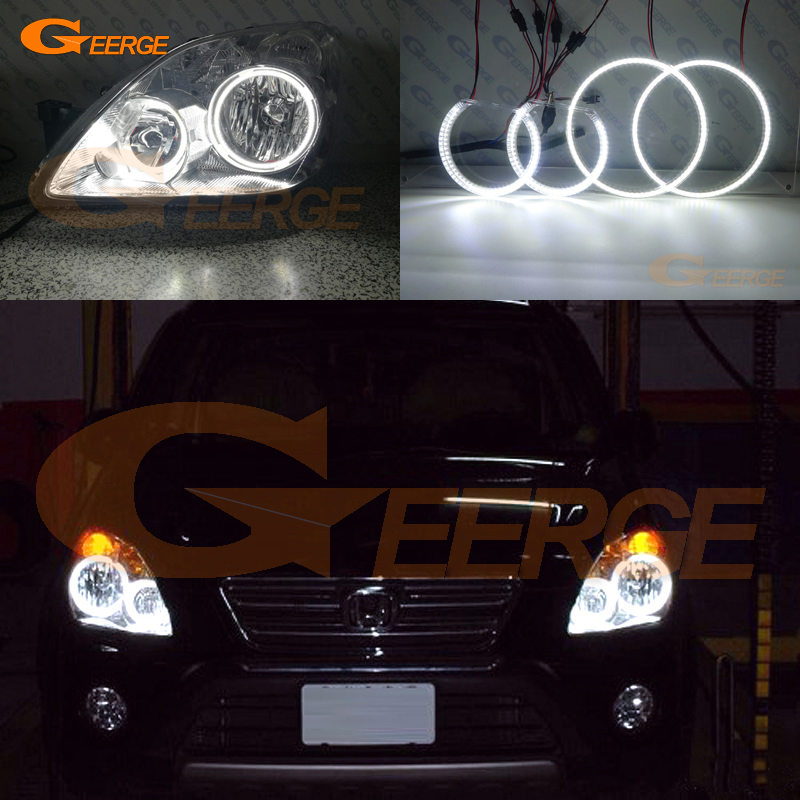 For Honda CR V CRV 2005 2006 headlight smd led Angel Eyes kit Excellent Ultra bright