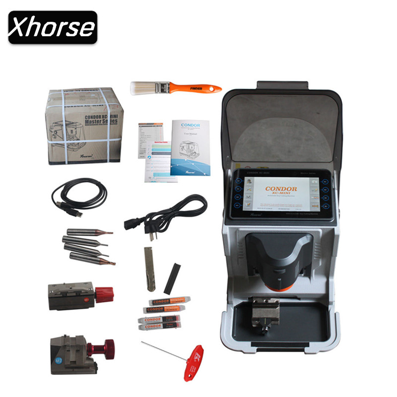Оригинал Xhorse iKeycutter Кондор XC MINI Мастер серии автоматический ключ резки обновление онлайн обновление версии ключевых резки