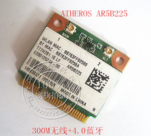 Atheros AR5B225 300 m wireless N Wifi red 4.0 bluetooth bt tarjeta mini pcie medio