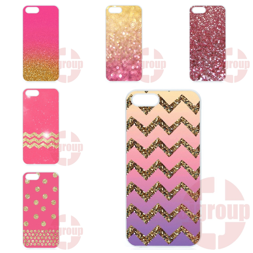 Gold Pink Glitter Skin Painting Cover Case For Motorola Moto X Play X2 G G2 G3 G4 Plus E 2nd 3rd gen Razr D1 D3 Z Force