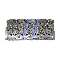 Cabeça Completa Cilindro Com Válvulas Para Kubota Diesel V2003 Para Bobcat 773|Kits p/ reconstrução do motor|Automóveis e motos -
