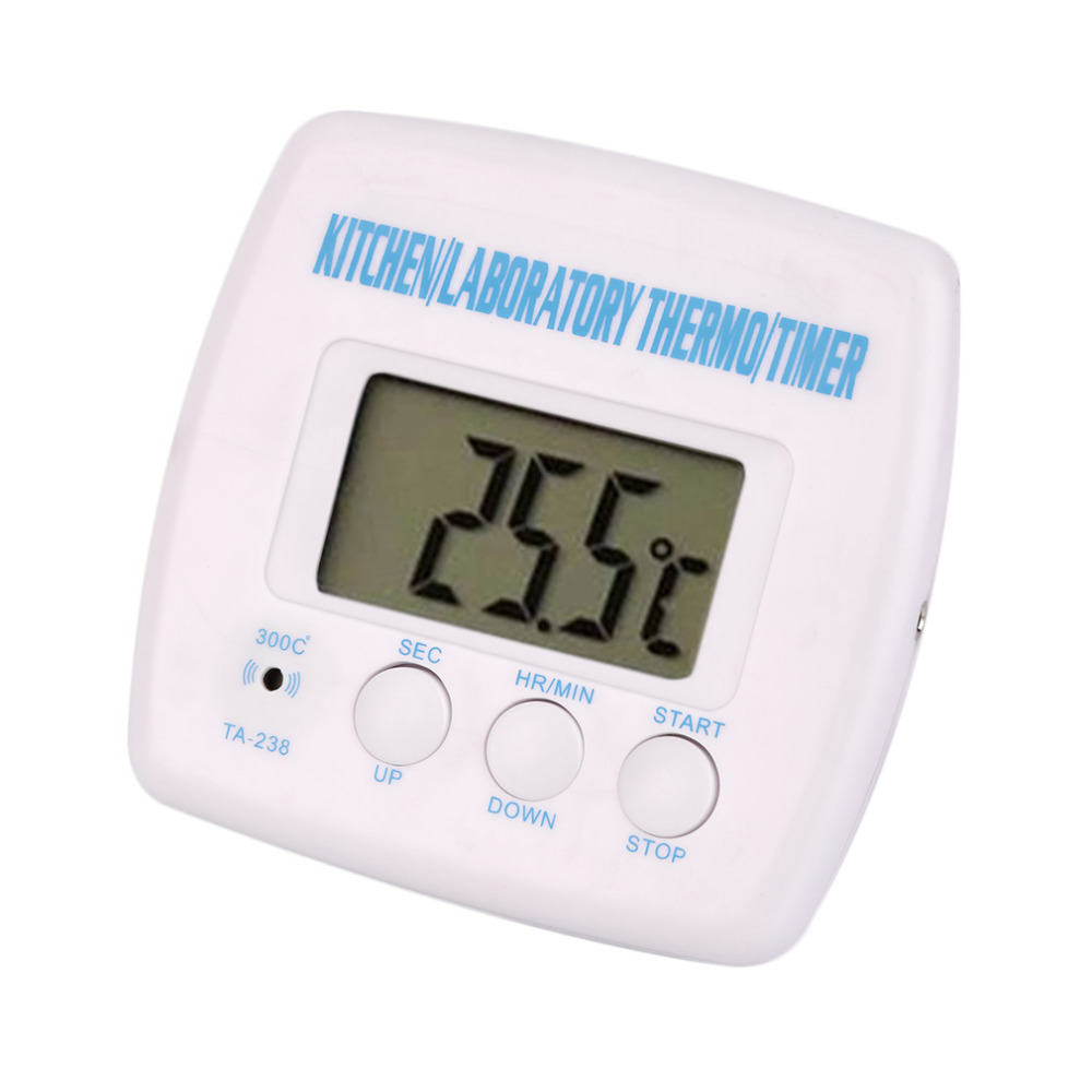 Kitchen Cooking Food Meat Probe Thermometer Timer Digital Lcd Display BBQ Thermometer for Oven 2015 thermometer Kitchen Bbq Meat good microwave oven timer tmh30mu02e 220 240v 4 pins bbq function