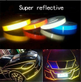 Car Styling 500cm*2cm car Motorcycle noctilucent Reflective decoration car Stickers For Mazda Toyota VW  Chevrolet honda ford