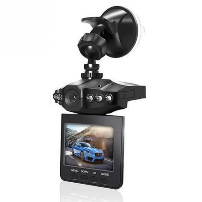 2.4inch 1080P HD Screen Traffic Wide Angle Video Tachograph Car DVR LCD Camcorder Dash Cam Recorder Infrared Camera Night Vision(China)
