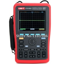UNI-T UTD1062C 2 Channels 60MHz 250MS/s Handheld Portable Digital Multimeter Oscilloscope Oscillograph Oscillometer UTD-1062C hantek dso5102p digital oscilloscope portable 100mhz 2channels 1gsa s record length 40k usb lcd handheld osciloscopio 7 inch