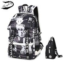 Fengdong Marke Neue Oxford Schultertasche Junior High School Korean Fashion Rucksack Für Teenager Mochila Infantil