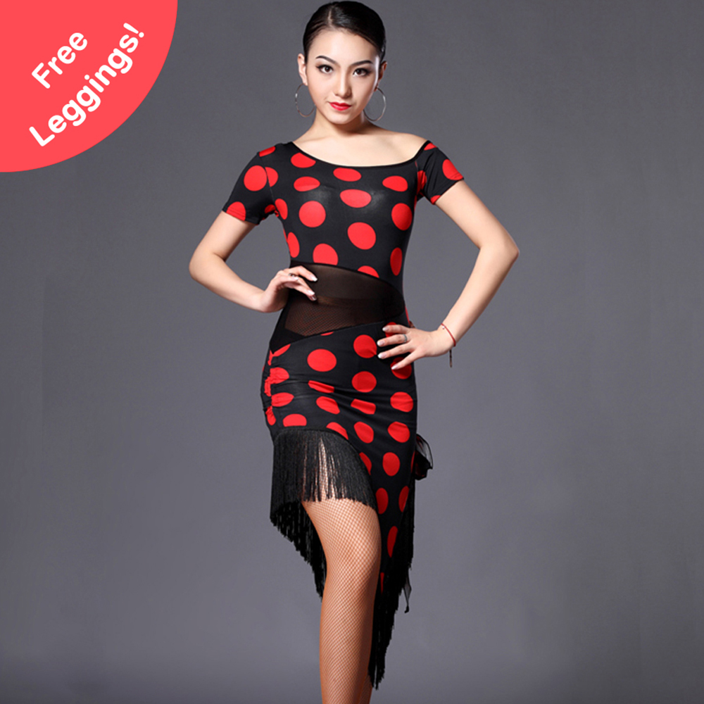 2018 Latin Dance Dress Women Regata Feminina Latin Cha cha Dress Flamenco Dresses Salsa Dance Dresses