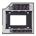 ¡ VENTA CALIENTE! Universal 2.5 ° 9.5mm Ssd Hd SATA unidad de Disco Duro Adaptador HDD Caddy Bay Para Cd Dvd Rom Optical Bahía Caliente nueva