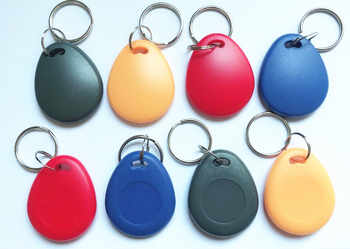 125Khz T5577 RFID KeyTags Tokens Writable Keyfob EM4305 Rewritable Ring Token Keychain Access Card Copy Clone - SALE ITEM Security & Protection