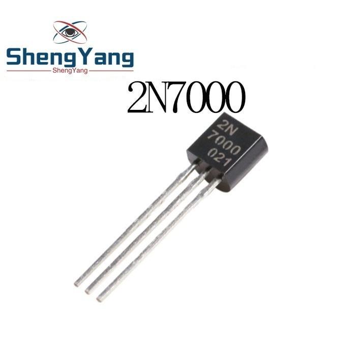 20pcs 2N7000 MOSFET N-CH 60V 0.3A 200MA TO-92