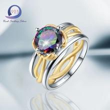 925 iris anillo talla