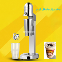 MS 1 Commercial Milk Shake Machine Stainless Steel Electric Milk Tea Mixer Single Head Milk Shake Machine Milk Tea Shop 220V|Blenders| |  -
