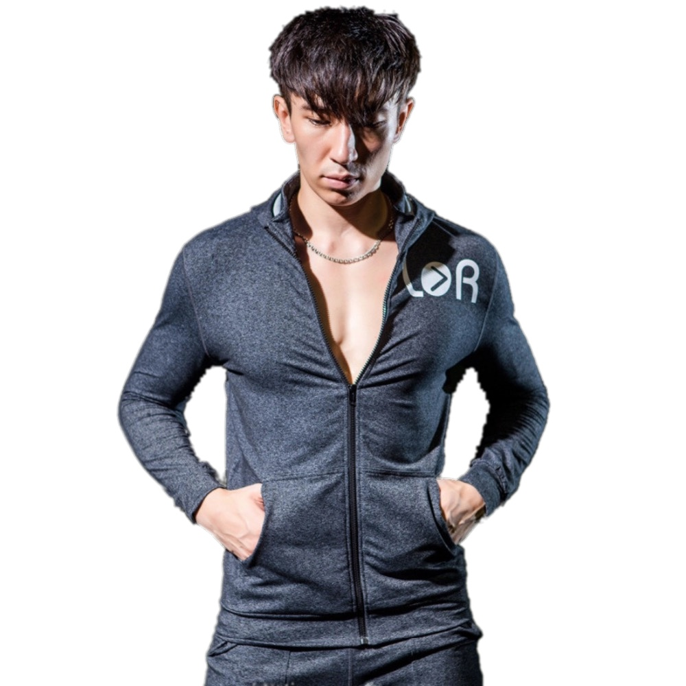 SY95032 Чоловіча спортивна куртка на - Спортивний одяг та аксесуари