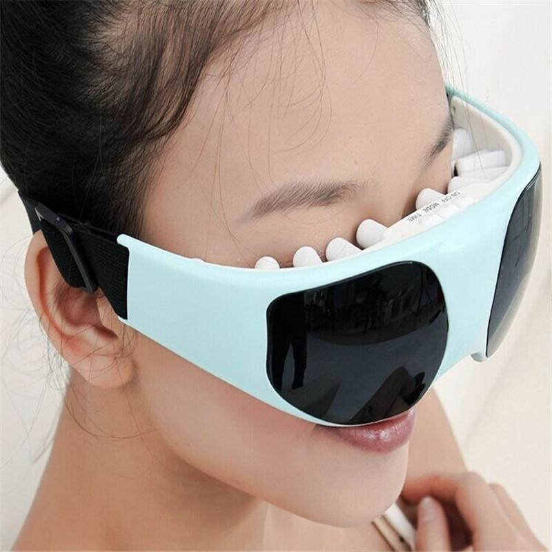 Health Electric Relax Vibration Release Alleviate Fatigue Eye Care Massager 2 Colors to Choose  New Arrival electric magnetic eye mask eye massager alleviate fatigue health eye care relax massager relieve stress to improve vision