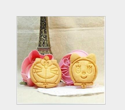 Kai paragraph explosion models perspective biscuit mold onigiri sushi cat Doraemon duo a dream cake mold 2 installed