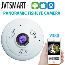 jvtsmart Fisheye VR 360 Degree  Wifi wireless Panoramic Camera HD 960P 1080p IP Camera Home Security Surveillance System Camera