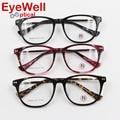 New Fashion Homens Mulheres Rodada Óculos Armação de Óculos de Acetato De Armação de óculos de Miopia Retro Marca Espetáculo Óptico Óculos com Dobradiça de Mola