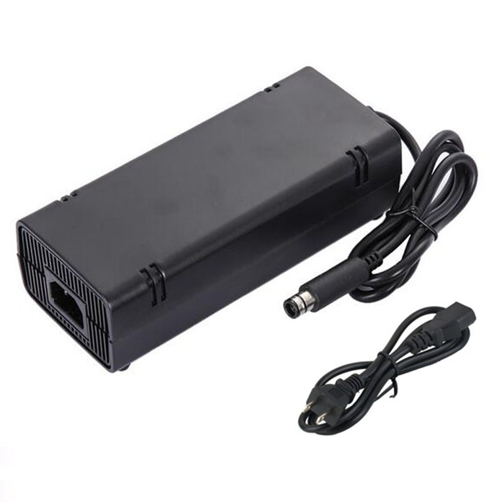 EU/US/UK Plug AC Adapter Charger Power Supply Cord For Xbox 360 Xbox360 E Brick Game Console
