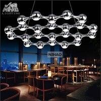 Italian New Design Modern LED Chandelier Light Modern LED Suspension Hanging Light Fixture For Foyer Dining