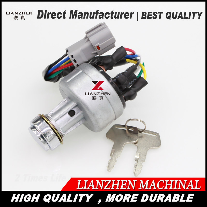 Starting switch fire up switch for Hyundai excavator engine spare parts ignition switch