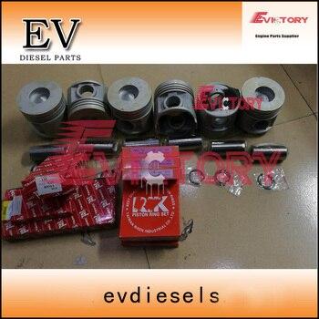 For Toyota engine rebuild kit 13Z Piston+piston ring set+gasket kit+bearing
