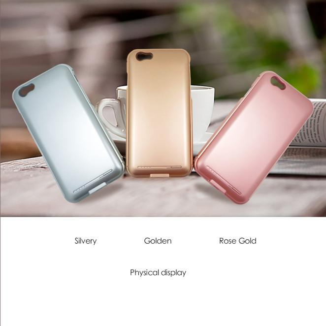 Iphone66 s no chin back clip battery charging treasure apple 6 s ultra-thin mobile power following fashion New Fashion