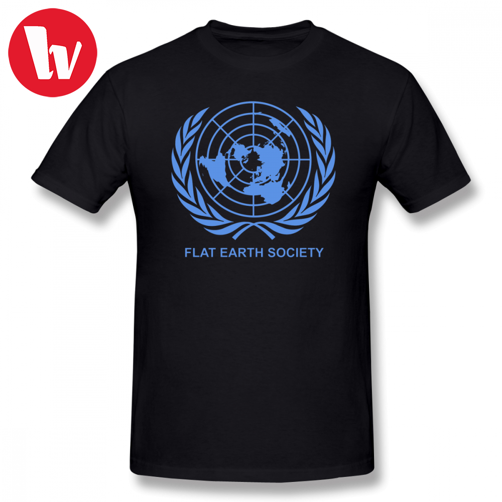 Flat Earth Tee   Shirt   Flat Earth Society   T  -  Shirt   Men Print Cotton   T     Shirts   Graphic Short Sleeve   T     Shirt   Male Awesome   T  -  Shirts