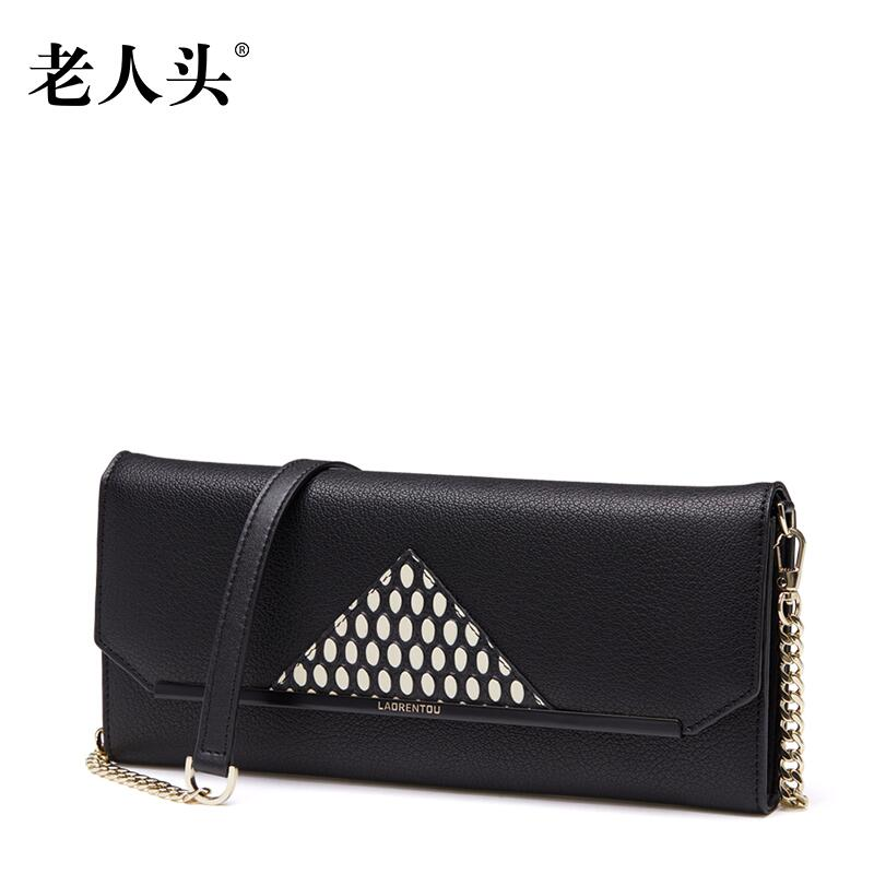 ФОТО 2017 New laorentou women leather bag designers brand fashion hit color clutch bag women leather shoulder bag