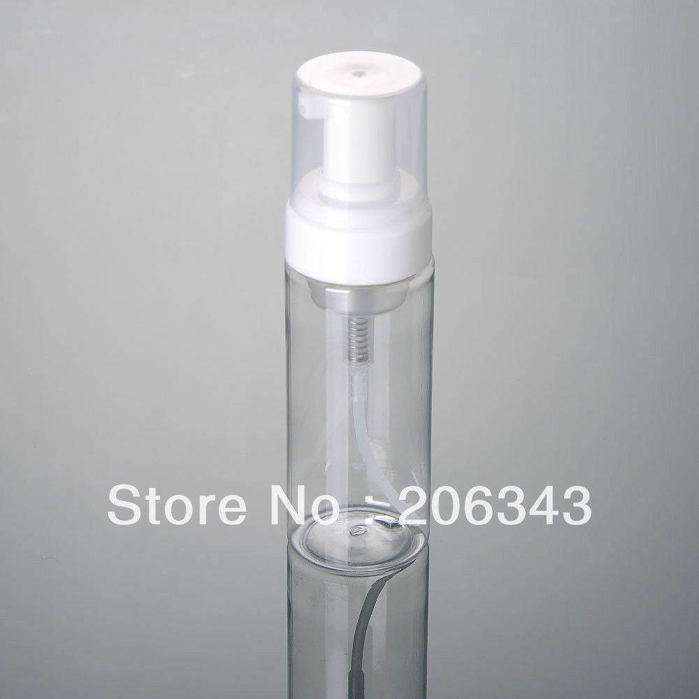 100ML transparent , FOAMING BOTTLE,MOUSSE BOTTLE
