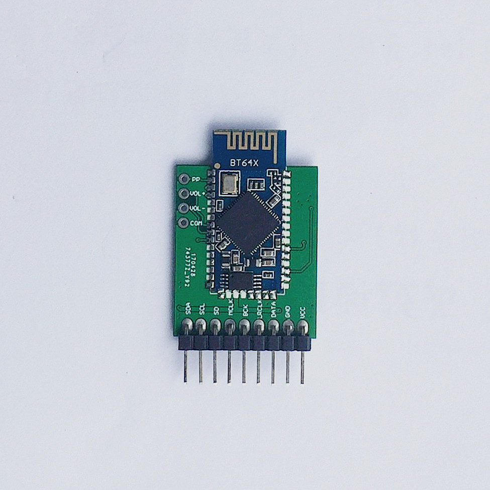 Factory direct CSR64215 Bluetooth 4.2, stereo audio I2S output receive module, module board APT--X ...