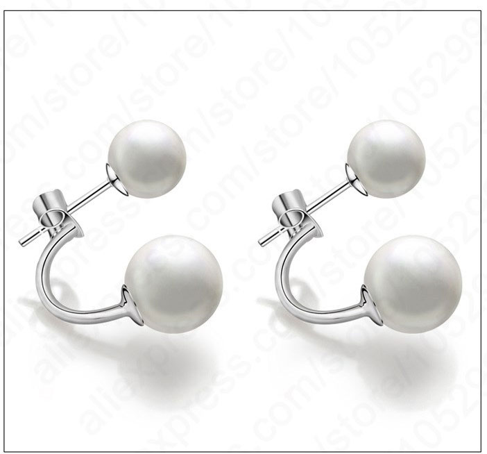 JEXXI-2018-New-Arrival-Real-Pure-925-Sterling-Silver-Double-Natural-Round-Pearl-Beads-Stud-Earrings