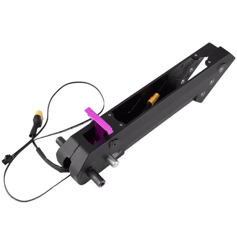 Dobrar Tubo Quadrado Haste Dobrável Tubo de Substituição Para Kugoo S1 S2 S3 8 Polegada Scooter Elétrico Skate