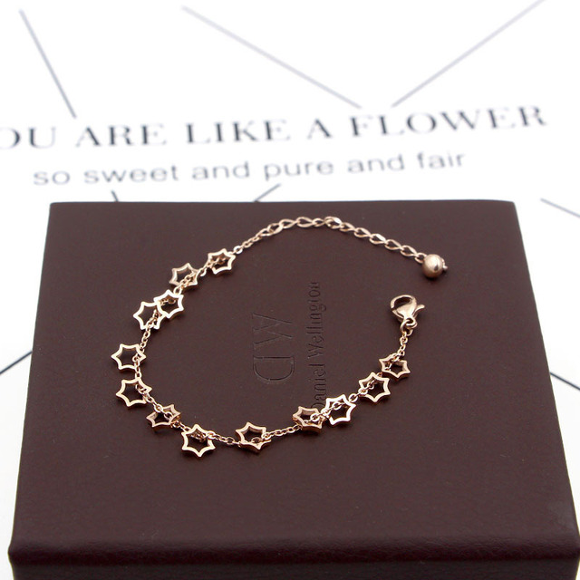 Купить популярные ювелирные изделия браслет из титановой стали и розового