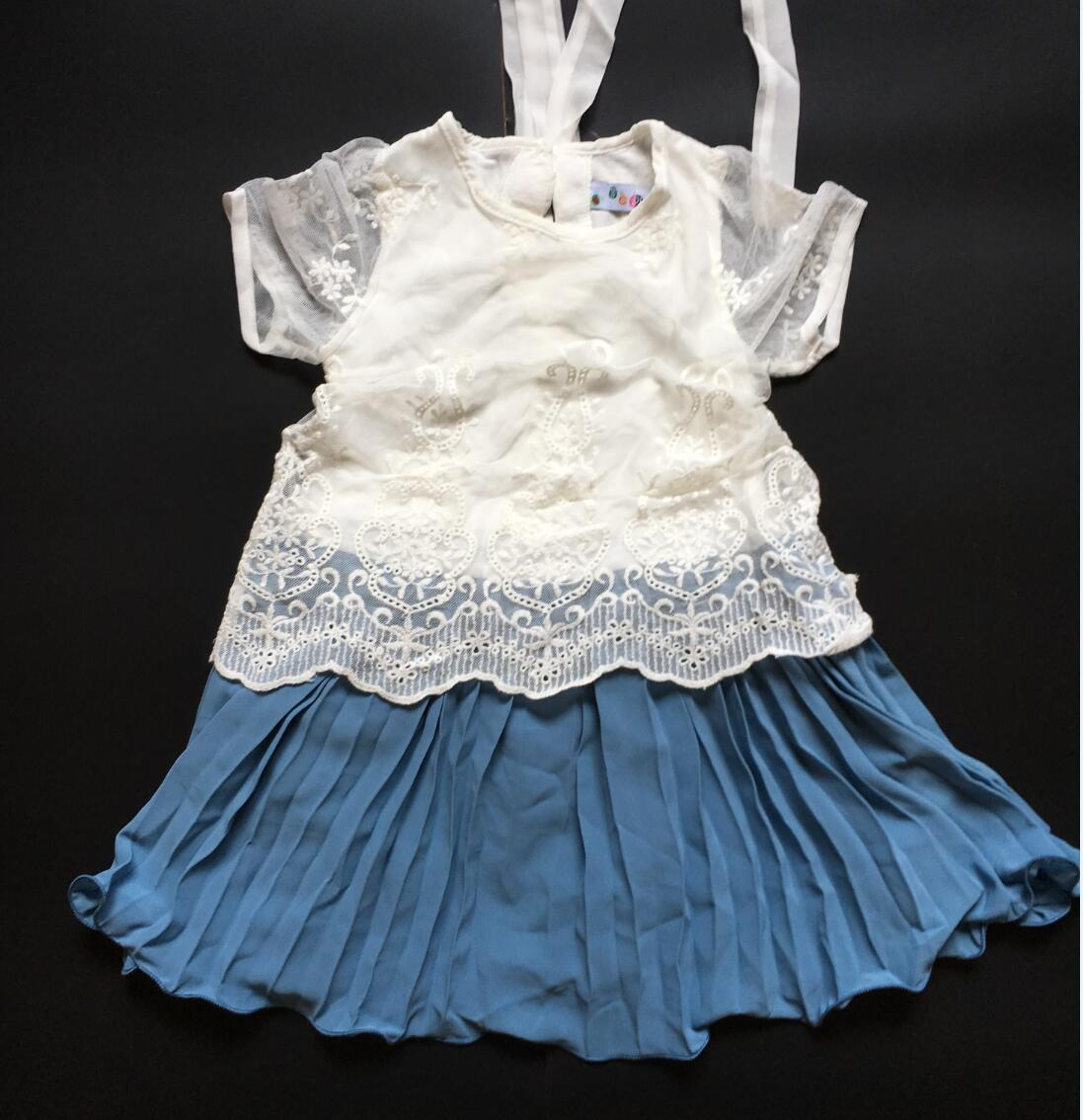 Clearance! Summer Princess Chiffon Girls Dresses Kids Vestidos for Years 2 to 6 A-Line Baby Children Clothes