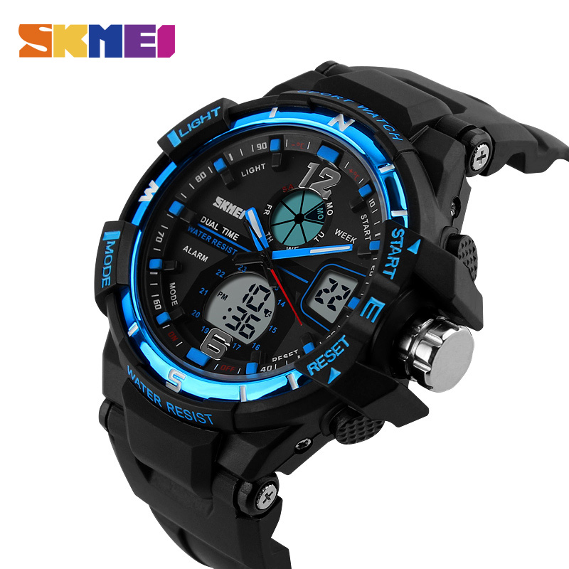 SKMEI Military Watch Men Waterproof Sport Watch For Mens Watches Top Brand Luxury Clock Camping Swim Relogio Masculino