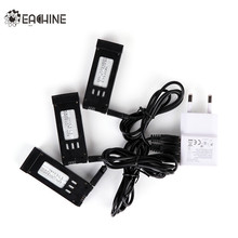 Eachine E58 1 to 3 Battery Charger Combo with 3.7V 500MAH Lipo Battery USB Cable Adapter Charging Units RC Quadcopter Spare Part