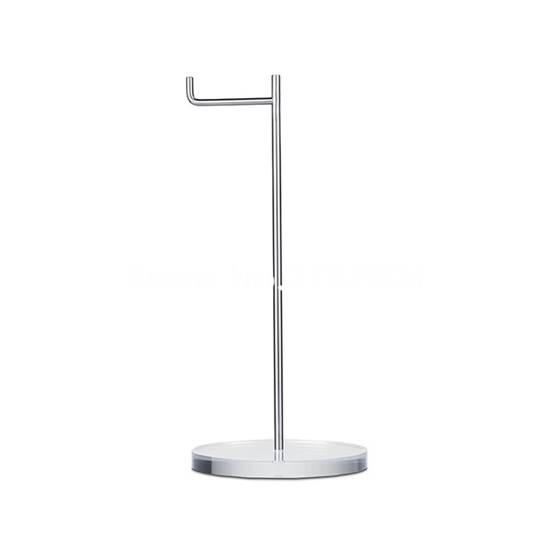 10pcs/lot Simple Design Clear Acrylic Headset Headphone Stand Holder For Audio Shop