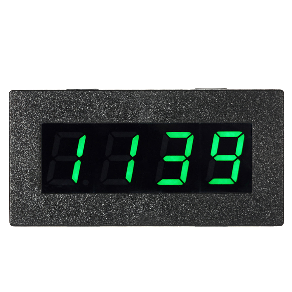 Digital Frequency Tachometer Car Motor Speed Meter RPM Measurement High Precision Tester 5-9999R/M DC 8-15V 0.56 4 LED digital display motor speed watch strap speeding alarm electronic tachometer sensor measurement speed